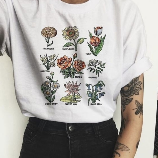 Wildflower Guide Graphic T-Shirt