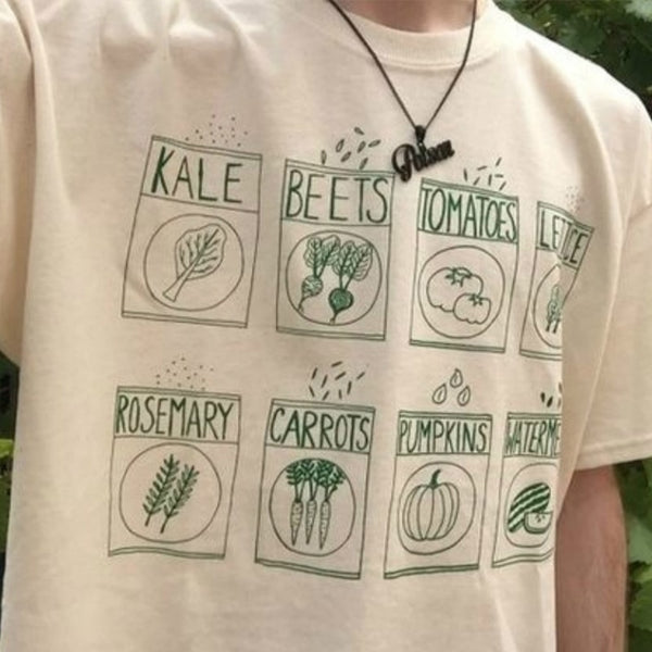Vegetables Graphic T-Shirts