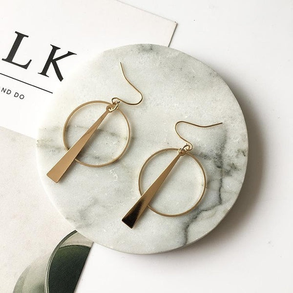"""Plato"" Geometric Earrings,artistic bae review, artisticbae reviews, artistic bae reviews, artsy clothing  - Artistic Bae"
