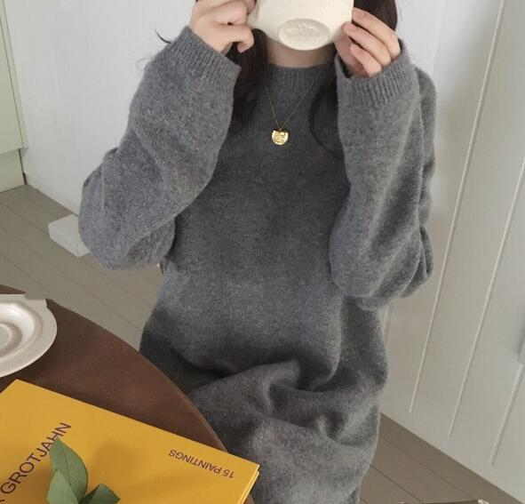 Minimal Straight Knitted Pullover,artistic bae review, artisticbae reviews, artistic bae reviews, artsy clothing  - Artistic Bae