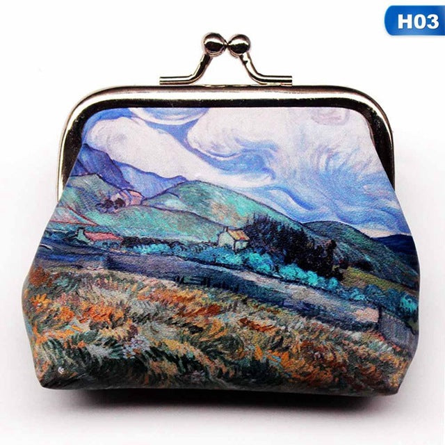Van Gogh Mini Coin Bag