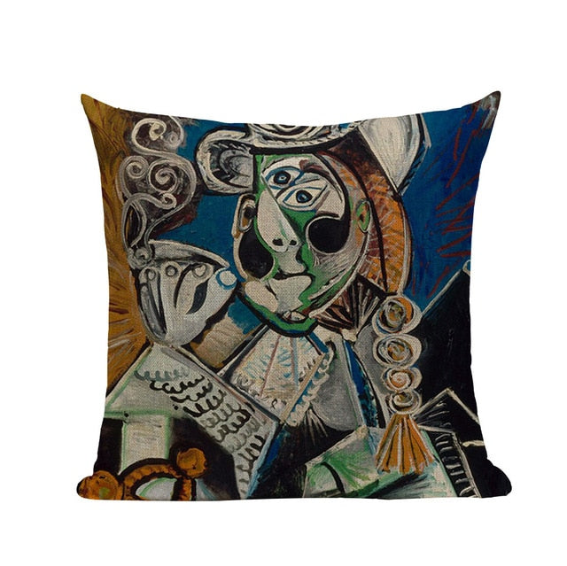 Pablo Picasso Linen Pillowcases,artistic bae review, artisticbae reviews, artistic bae reviews, artsy clothing  - Artistic Bae