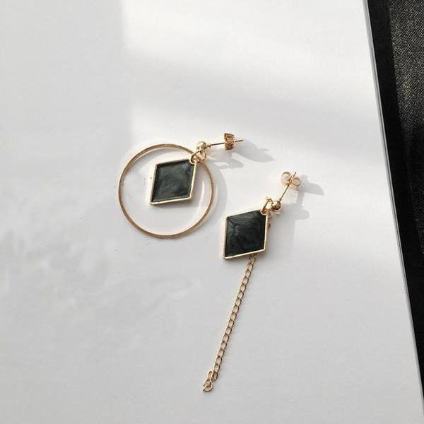 Irregular Geometric Earrings,artistic bae review, artisticbae reviews, artistic bae reviews, artsy clothing  - Artistic Bae