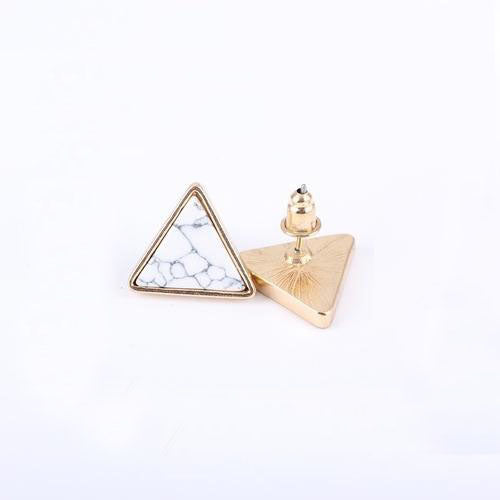 Marbled Geometric Earrings,artistic bae review, artisticbae reviews, artistic bae reviews, artsy clothing  - Artistic Bae