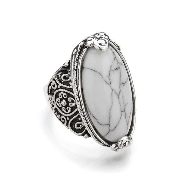Antique Oval Silver Rings,artistic bae review, artisticbae reviews, artistic bae reviews, artsy clothing  - Artistic Bae