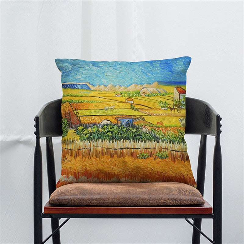 Van Gogh Oil Painting Pillowcase,artistic bae review, artisticbae reviews, artistic bae reviews, artsy clothing  - Artistic Bae