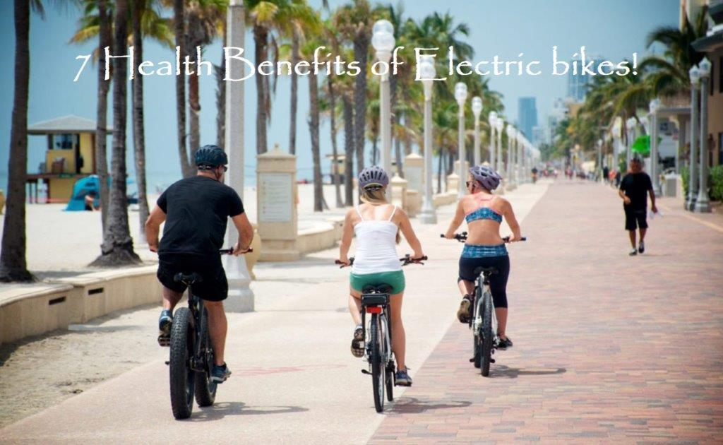 7 Health benefits of Electric Bikes