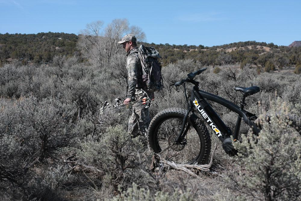 Mountain Bike for Hunting
