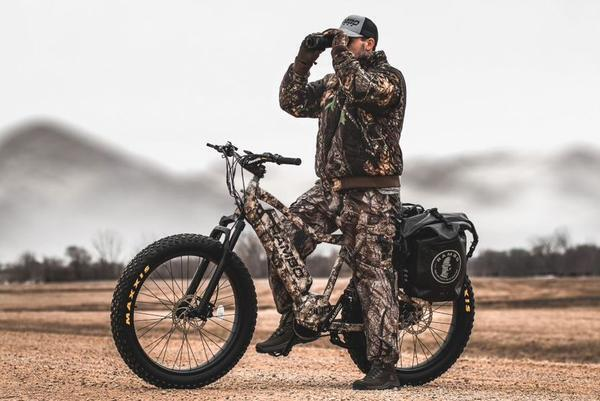 Rambo Bushwacker 750W XPC Truetimber Electric Hunting Bike Review