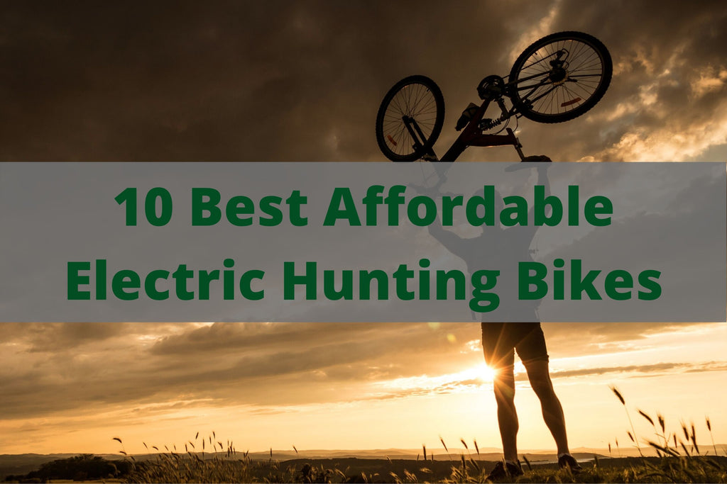 10 Best Affordable Electric Hunting Bikes