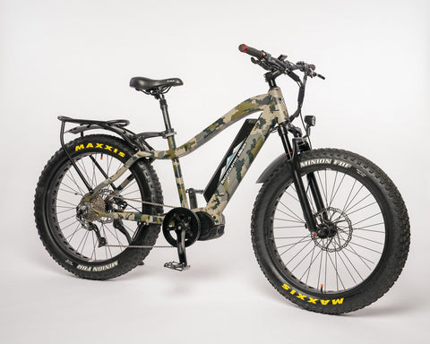Mule fat tire electric hunting bike