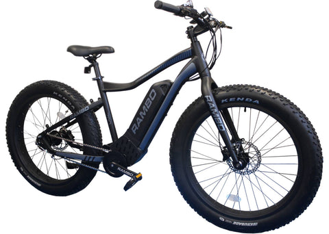 2019 R750 26 electric hunting bike by Rambo Bikes