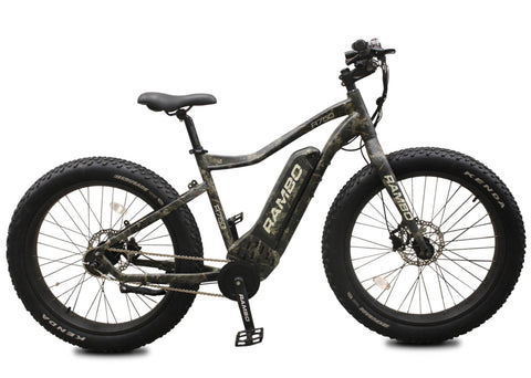 Rambo 750 G4 fat tire electric bike