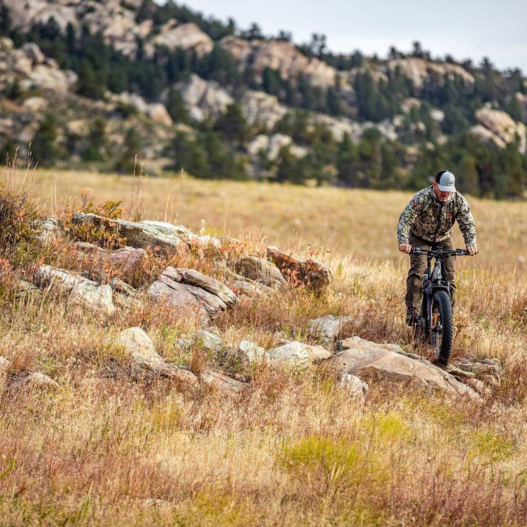 fat tire ebike better off-road abilities for hunters