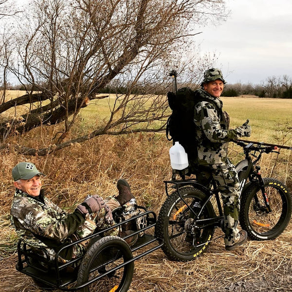 Electric Hunting bike with trailer