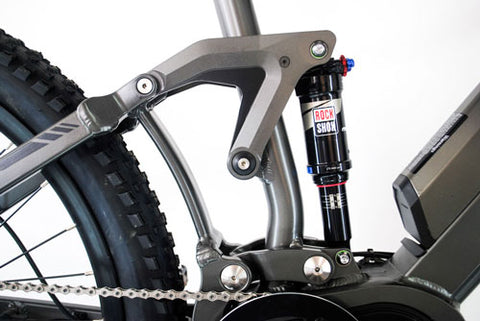 RidgeRunner rear Suspension