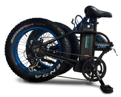 lynx ebike in folded position