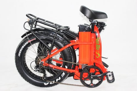 Green Bike USA ebike folded up