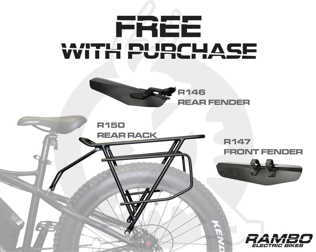 Rambo Bikes Free With Purchase Accessories EBG