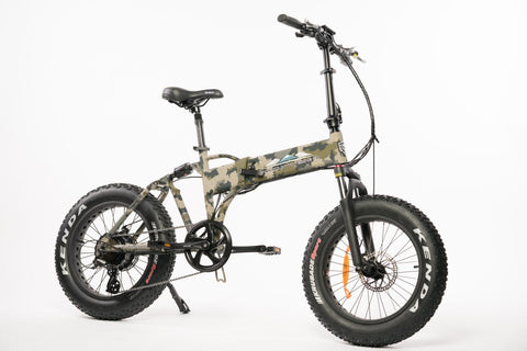 Stalker Folding Full Suspension eBike