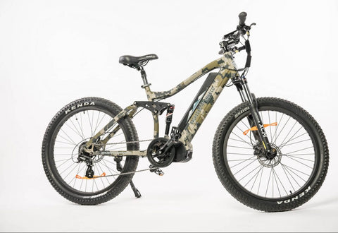 Storm Electric Full Suspension Hunting Bike