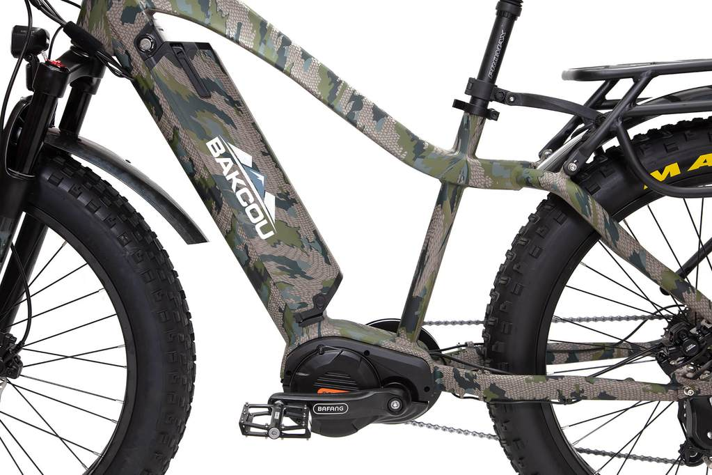 Bakcou Mule electric bicycle benefits for hunters