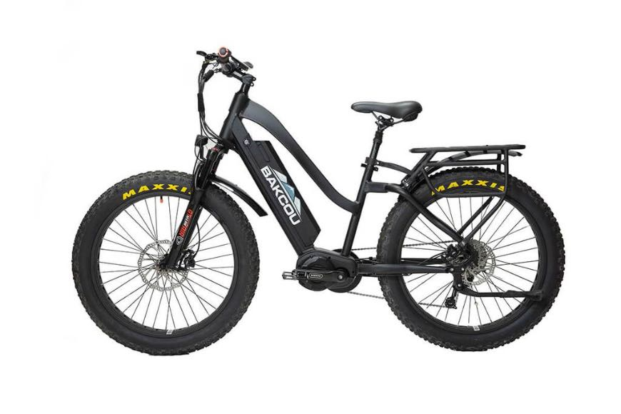What is a step-through electric bike?