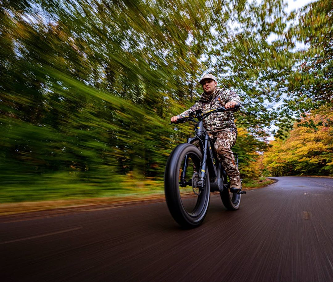 fat tire ebikes for hunting benefits