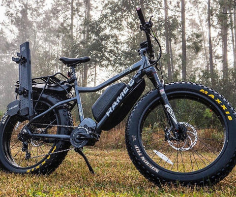 Rambo R1000XP fat tire electric hunting bike