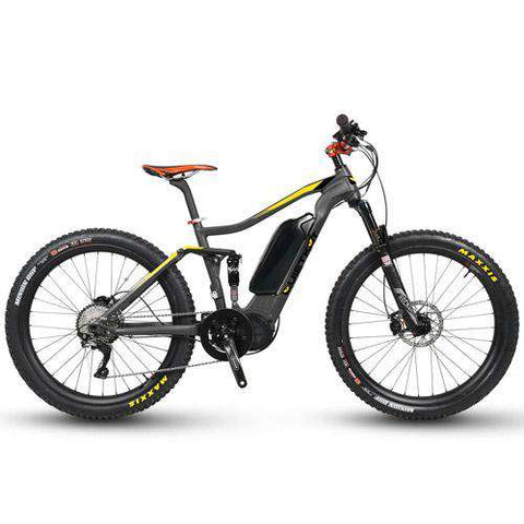 Quietkat Quantum Full Suspension eBike