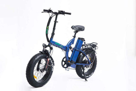 Green Bike USA GB750 NEXT Fat Tire Electric Folding Bike