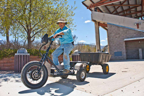 QuietKat Prowler 60V All Terrain Trike