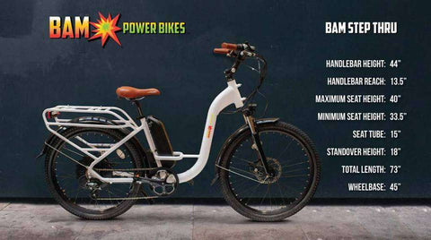 BAM Power Bikes Step Thru