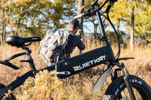 QuietKat 2018 Bandit 750W Folding Electric Bike
