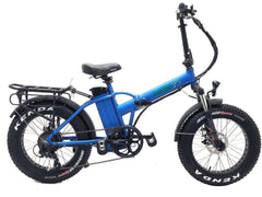 Green Bike USA GB1 Fat Tire Electric Folding Bike