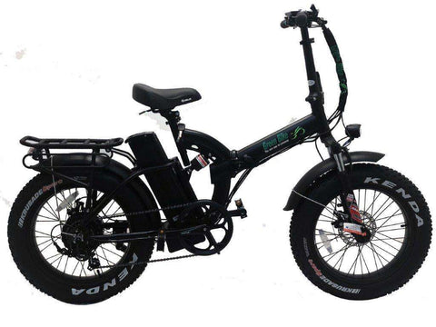 Green Bike USA GB500 Fat Tire Electric Folding Bike