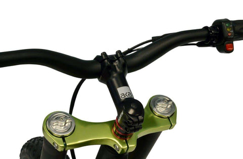 Image of Prodecotech Rebel X V5 Suspension Electric Mountain Bike front suspension