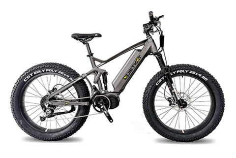 Quietkat RidgeRunner Full Suspension eBike