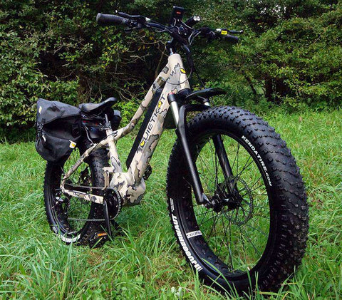 Quietkat Ambush LT 750W Electric Hunting Bike