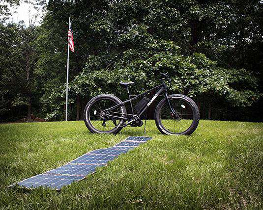 Rambo Solar Charger For Electric Bikes Ebike Generation