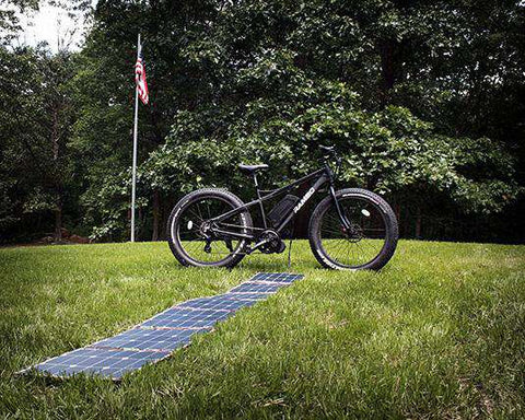 Rambo Solar Charger for Electric Bikes