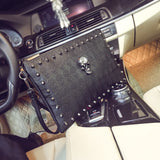 NEW 2019 SKULL LEATHER HANDBAG