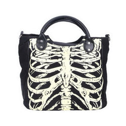 Gothic Skeleton Handbag
