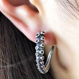 Gothic Octopus Earrings