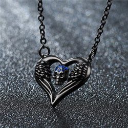 Heart of the Skull Necklace