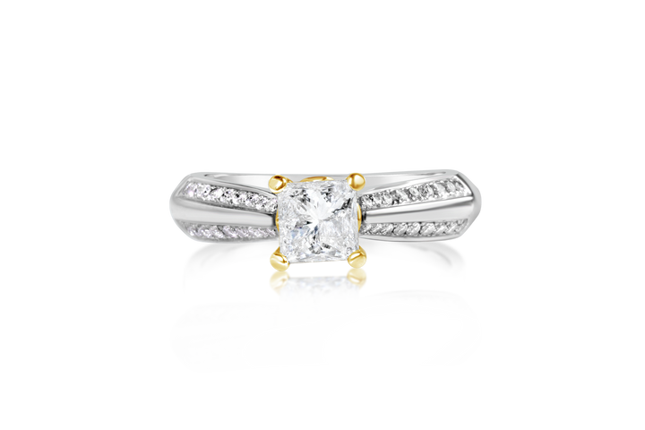 1.16-CTTW Diamond Engagement Ring
