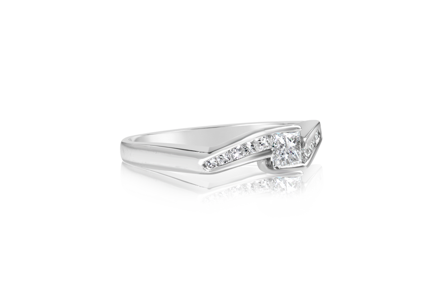 .50-CTTW Princess Diamond Fashion Ring