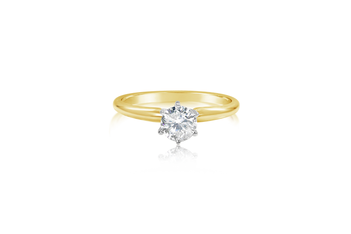 .33 CT Round Brilliant Solitaire