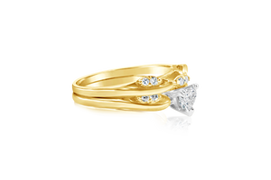 .38CT Heart Diamond Ring