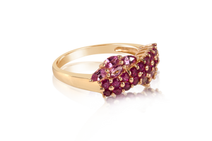 Ruby and Pink Sapphire Fashion Band